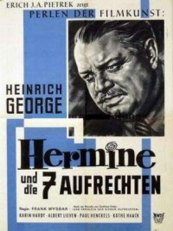 Hermine und die sieben Aufrechten Poster