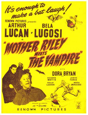Mother Riley Meets the Vampire Poster