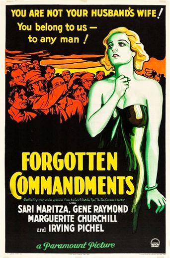 Forgotten Commandments Poster