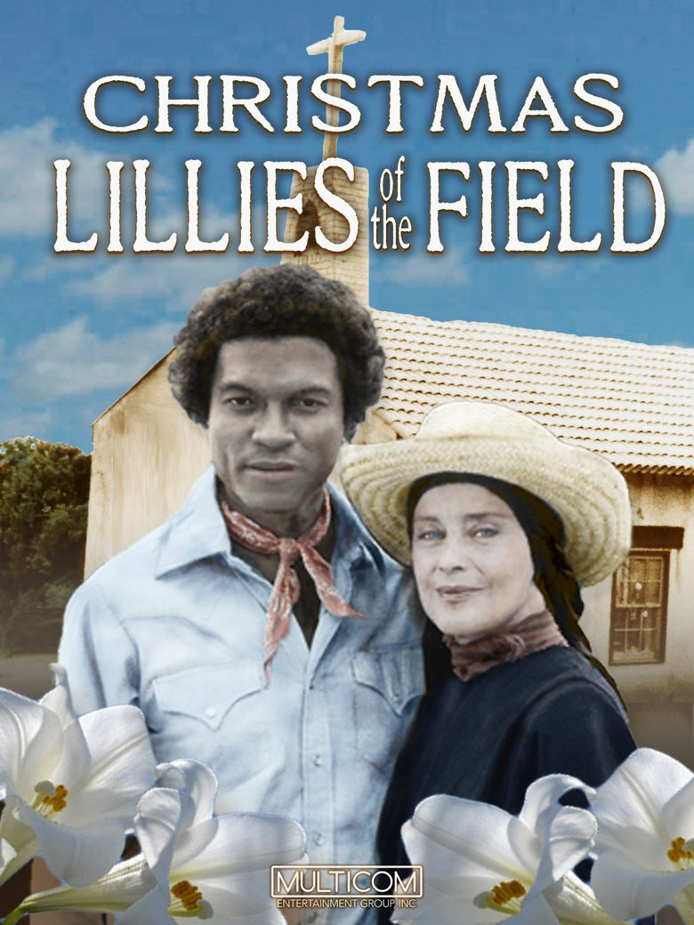 Christmas Lilies of the Field Poster