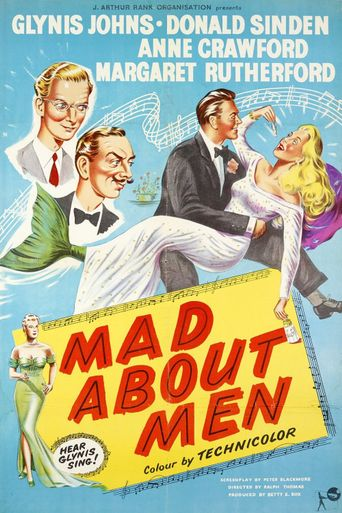 Mad About Men Poster