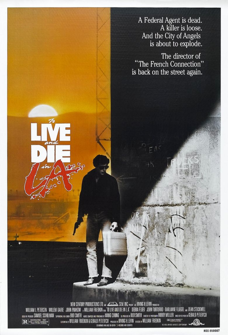 To Live and Die in L.A. Poster