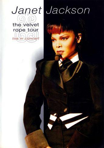 Janet Jackson: The Velvet Rope Tour Poster