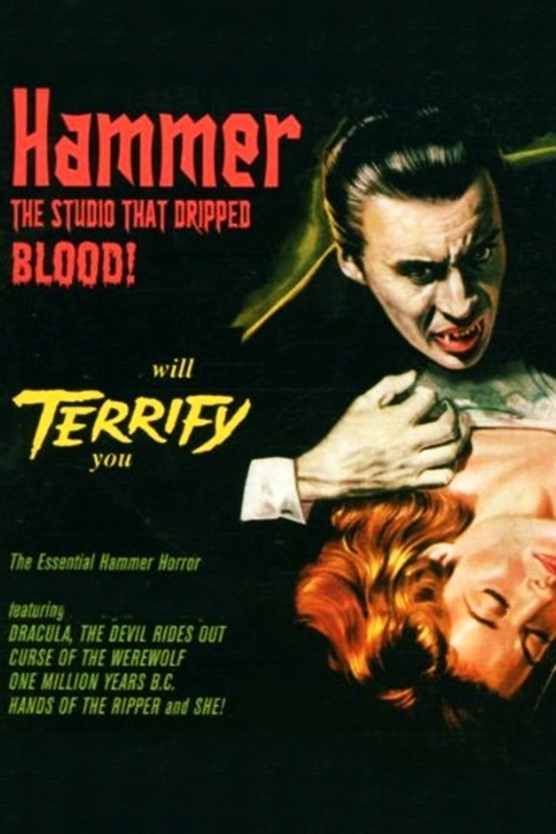Hammer: The Studio That Dripped Blood Poster