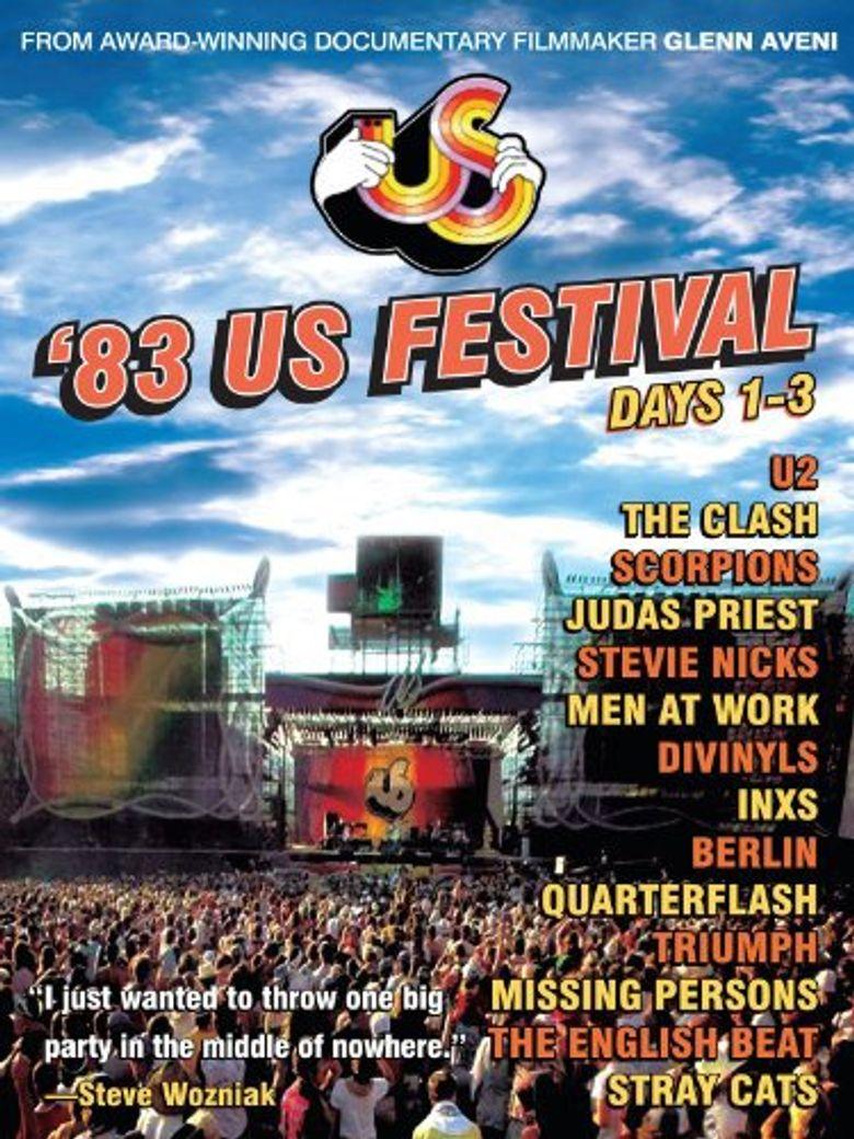 US Festival 1983 Days 1-3 Poster