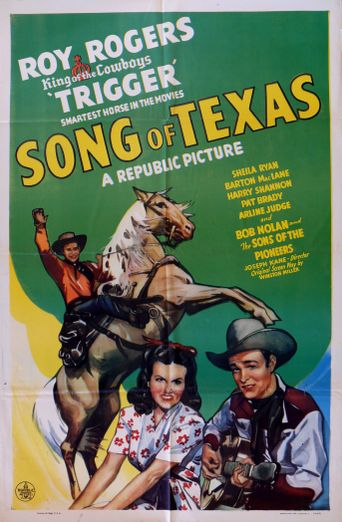 Song of Texas Poster
