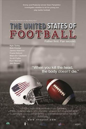 The United States of Football Poster