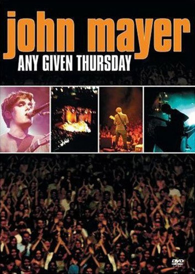 John Mayer: Any Given Thursday Poster