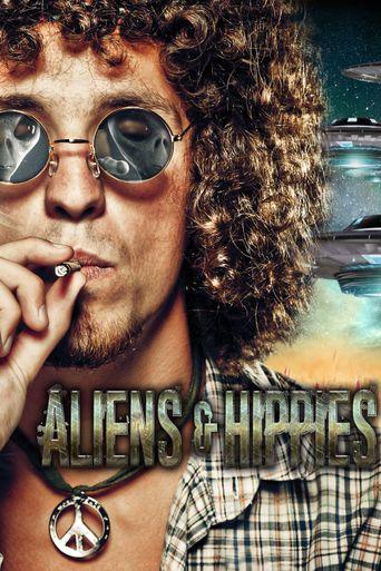 Aliens & Hippies Poster