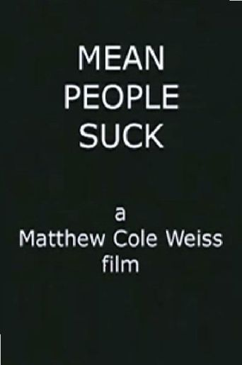 Mean People Suck Poster