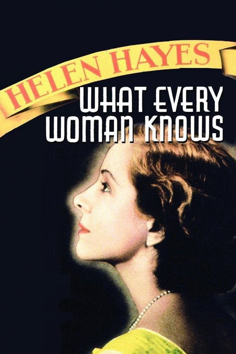 What Every Woman Knows Poster