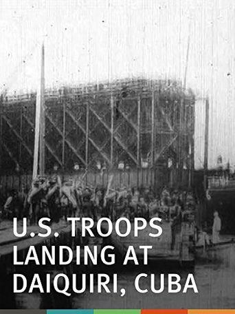 U.S. Troops Landing at Daiquiri, Cuba Poster