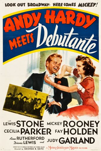 Andy Hardy Meets Debutante Poster