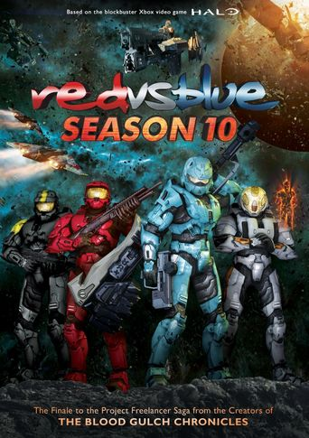 Red vs. Blue - Vol. 10 Poster