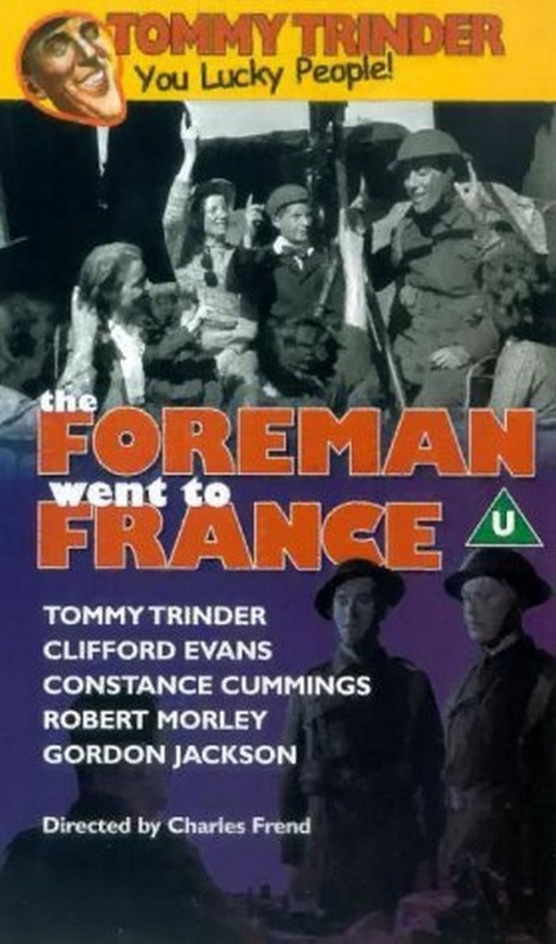 The Foreman Went to France Poster