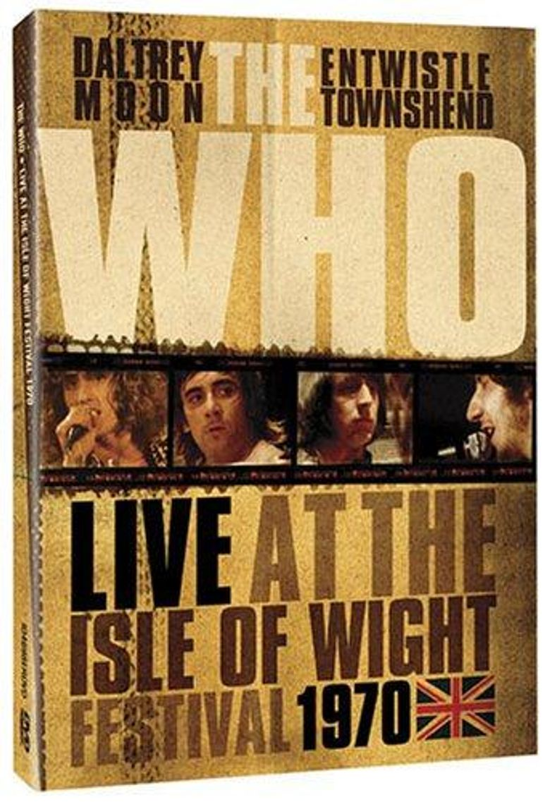 Listening to You: The Who Live at the Isle of Wight Poster