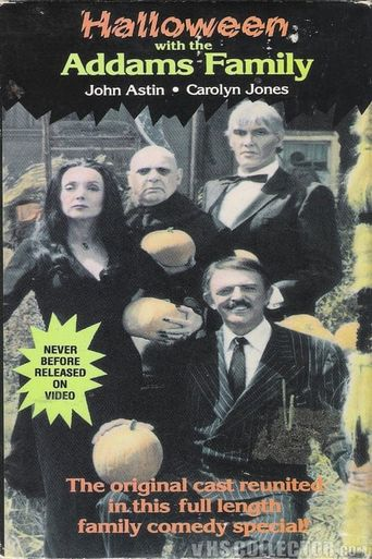 Halloween with the New Addams Family Poster