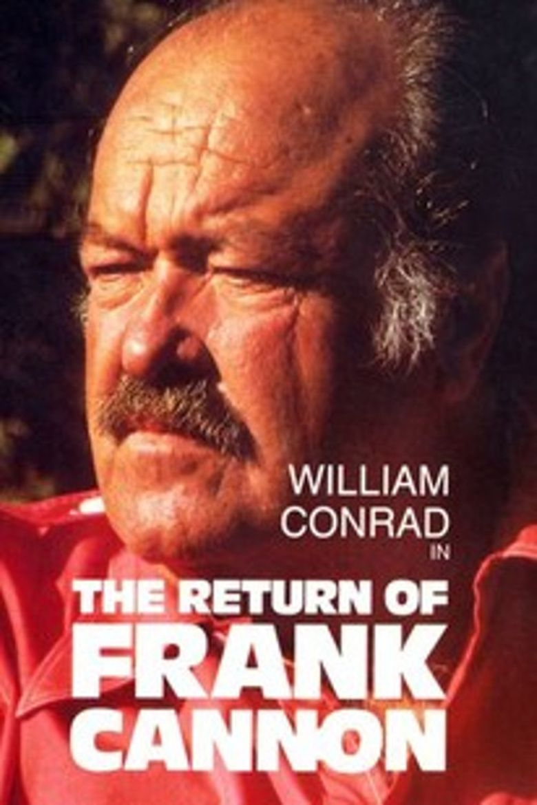 The Return of Frank Cannon Poster