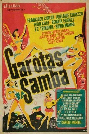 Garotas e Samba Poster