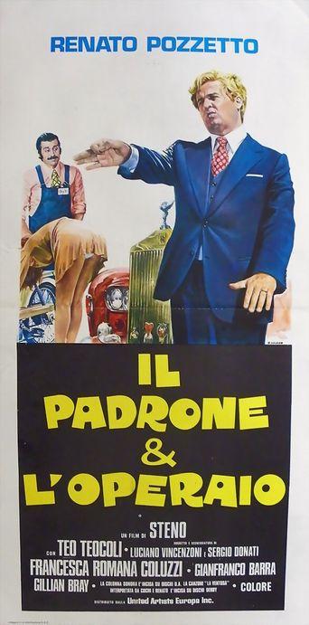 Il padrone e l'operaio Poster