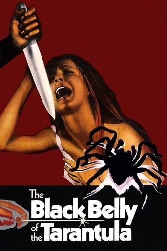 The Black Belly of the Tarantula Poster