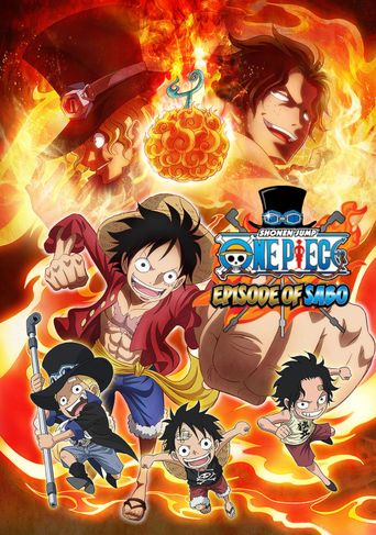 Episode of Sabo: The Three Brothers' Bond - The Miraculous Reunion Poster