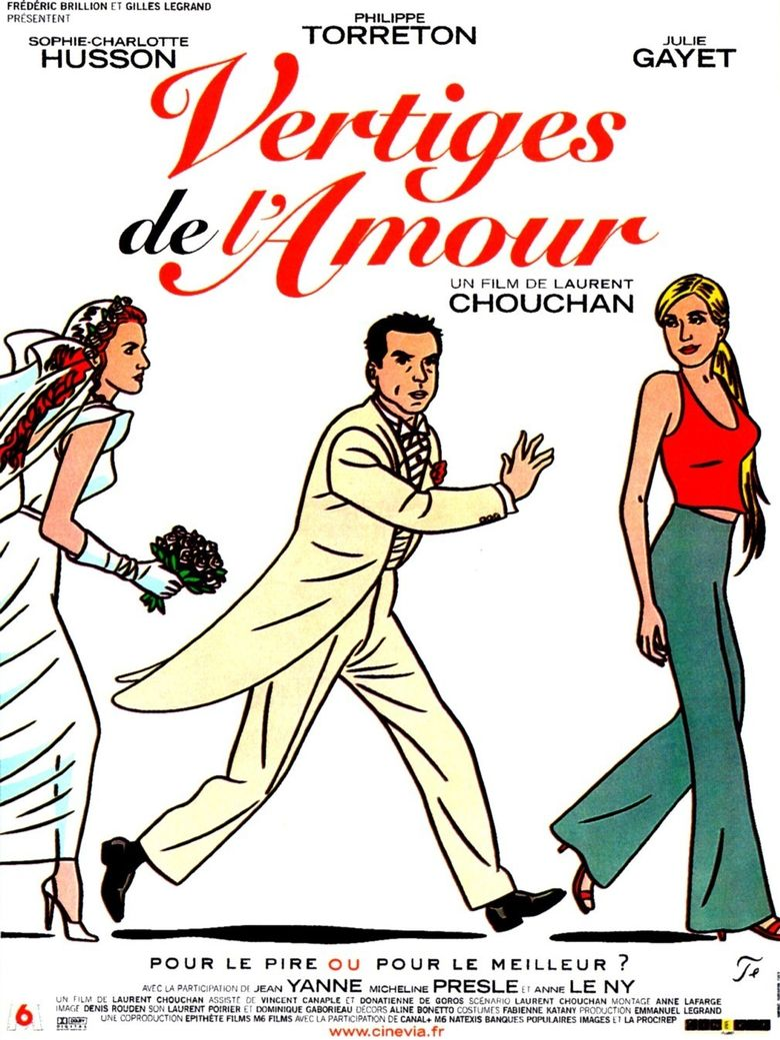 Vertiges de l'amour Poster