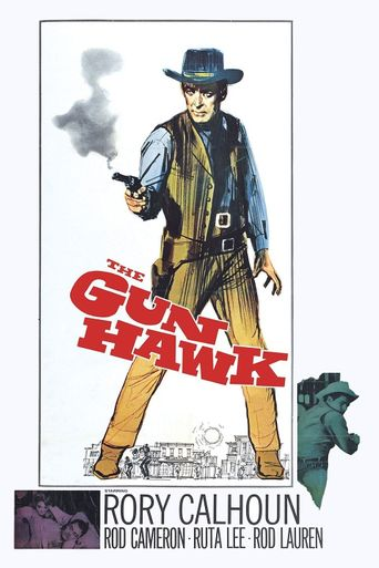 The Gun Hawk Poster