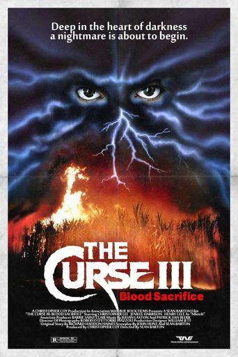 Curse III: Blood Sacrifice Poster