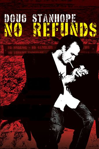Doug Stanhope: No Refunds Poster