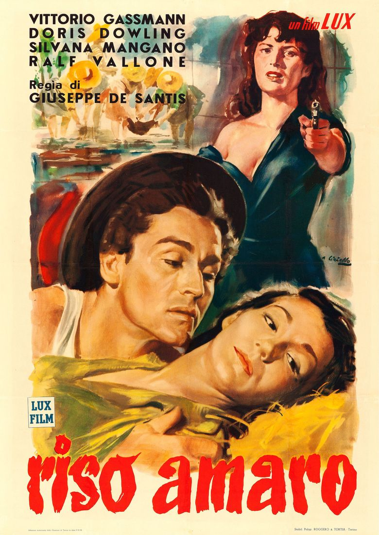 Bitter Rice Poster