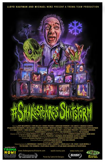 Shakespeare's Shitstorm Poster