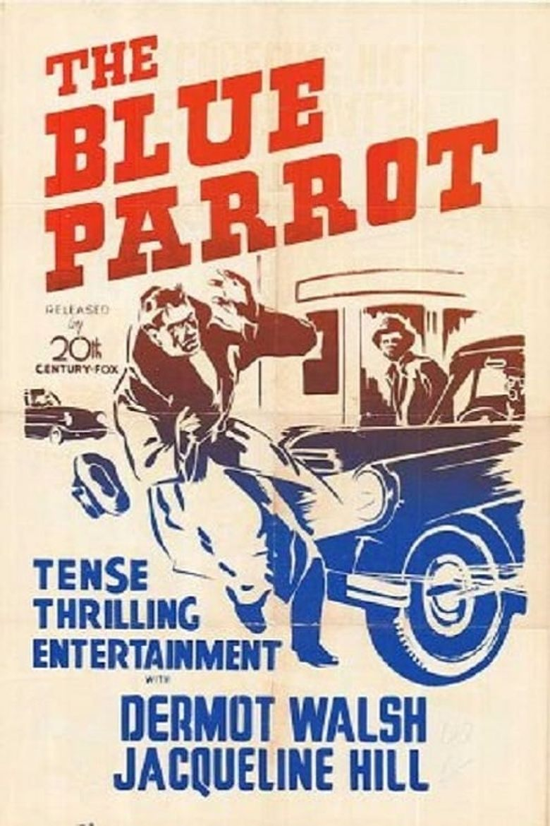 The Blue Parrot Poster