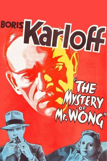 The Mystery of Mr. Wong Poster