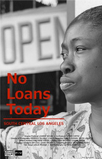 No Loans Today Poster
