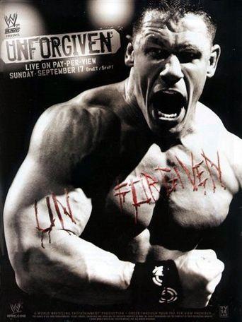 WWE Unforgiven 2006 Poster