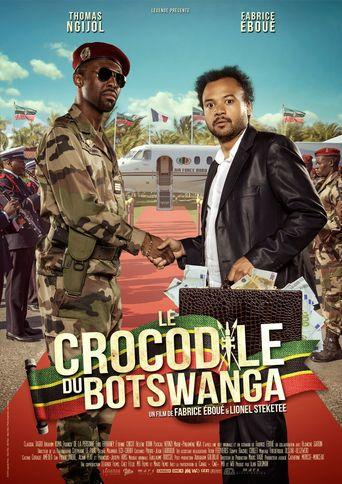 Le Crocodile du Botswanga Poster