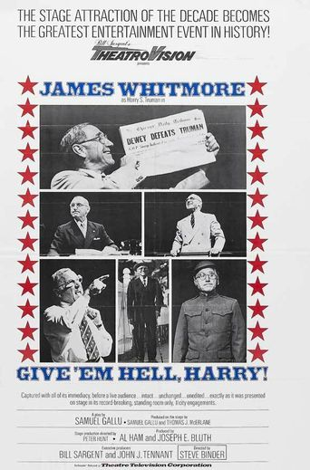 Give 'em Hell, Harry! Poster
