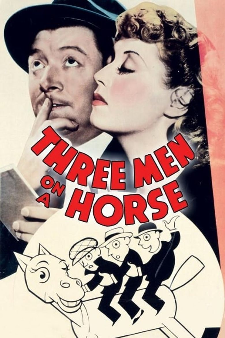 Three Men on a Horse Poster