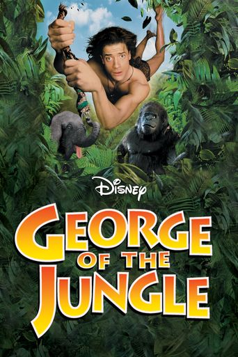 George of the Jungle Poster