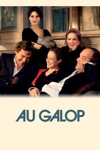 Au Galop Poster