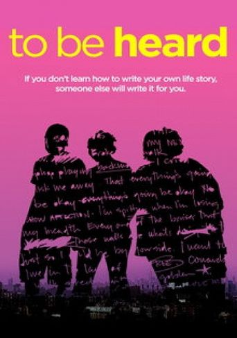 To Be Heard Poster