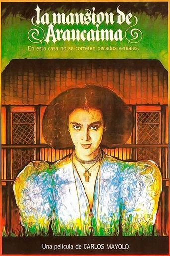 La mansión de Araucaima Poster