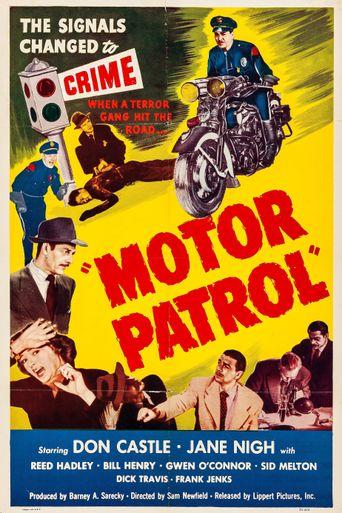 Motor Patrol Poster