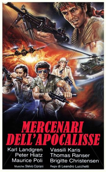 Apocalypse Mercenaries Poster