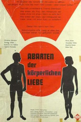 Abarten der körperlichen Liebe Poster