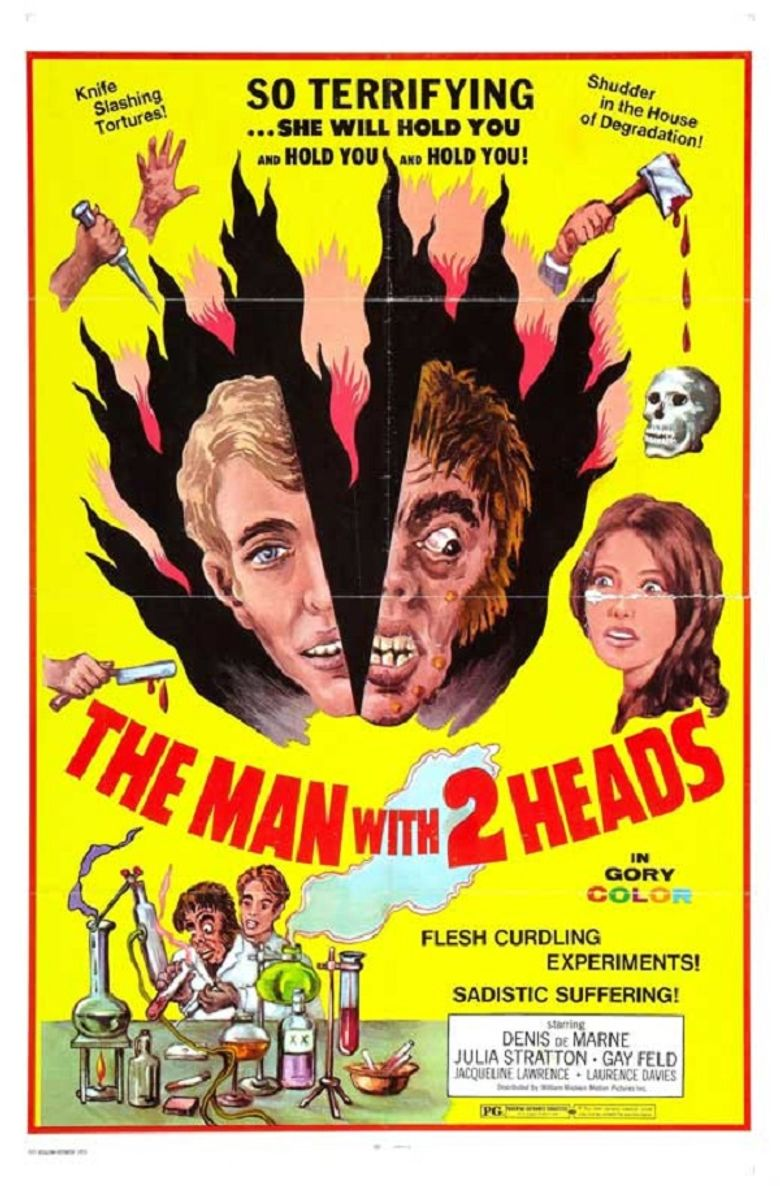 The Man with Two Heads Poster