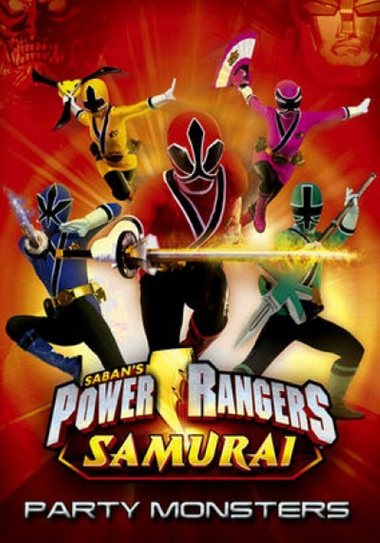 Power Rangers Samurai: Party Monsters (Halloween Special) Poster