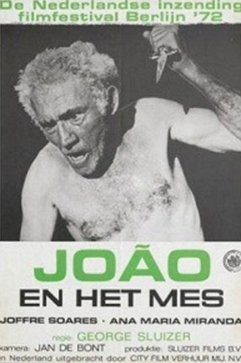 João and the Knife Poster