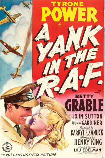 A Yank in the R.A.F. Poster